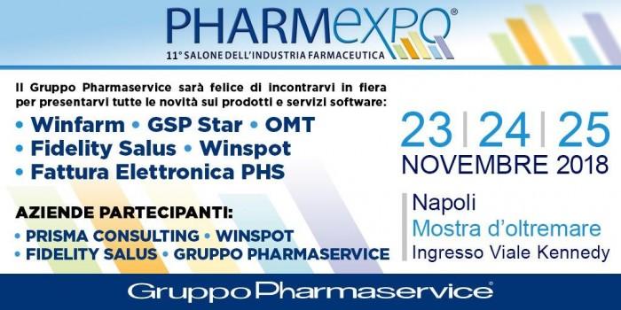 Pharmaservice Pharma Expo 2018
